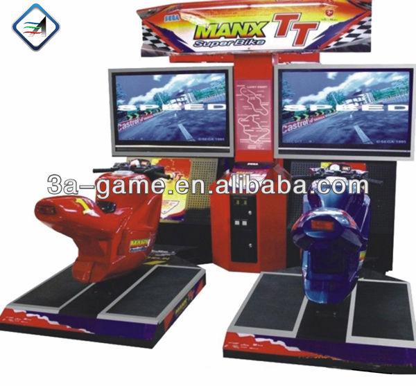 Coin operated Simulator TT Motorcycle Arcade Racing Car Entertainment Game Machine