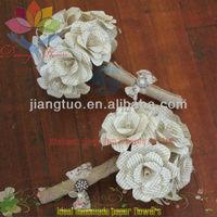 2013 high quality paper flower wedding decoration pillar