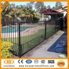 ( 12 years factory ) high quaility coated aluminum used swiming pool fencing