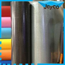 JEYCO VINYL Black & siver glitter shine glossy car vinyl wrap