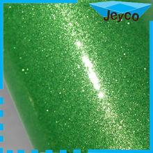 JEYCO VINYL Glossy green pearl shine vinyl car wrap