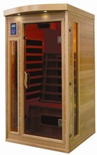 the best infrared sauna-factory direct price classic distinctive design home sauna for one person