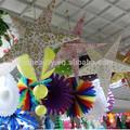 handmade artesanato de papel para o partido eo festival enfeites pendurados