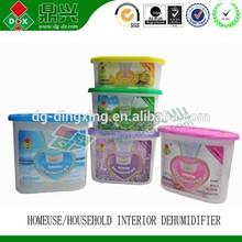 Natural wardrobe moisture absorber dehumidifier box Interior dehumidifier