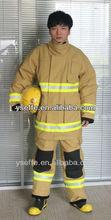 Lutte contre l'incendie armée robe uniforme vêtements de protection, Lutte contre l'incendie nomex uniforme