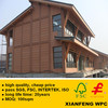 WPC Board Weather Resistance Exterior Decorative Wall Cladding WPC Fence Wood Plastic Composite Fence Panels
