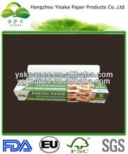 grau alimentício bicarbonato de rolo de papel pergaminho