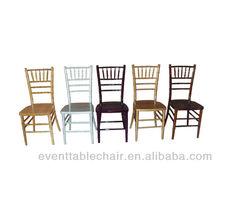 banquet wedding wood wholesale chivari tiffany chair for sale