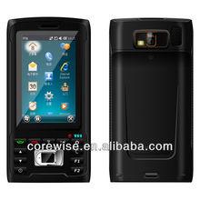 live biometric fingerprint sensor, finger print reader, rugged 3G smart phone