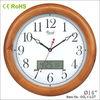 14 inch fashion wood calendar flip clock
