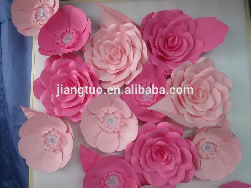 2014 wholesale handmade Boutique Giant Paper Flowers