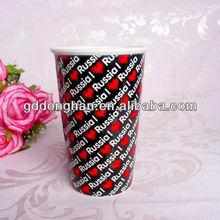 china manufacturer wholesale new product 11oz eco friend ceramic heart shape hand glazed white inside travel mugs logo