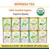 Organic Certified Moringa Original Leaf Tea Bags