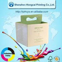 Fashion White Tea Paper Gift Boxes Packaging Box