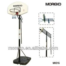 "Deluxe Portabke Basketball Stand with 44"" PP Backboard MK016"