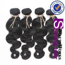 Shining Hair Hot Selling factory price 100% body wave brazilian human hair extension,brazilian virgin hair extension