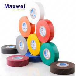 FR pvc tape pvc insulation tape for cable and wires