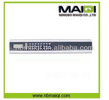 Promotional 30cm Solar Ruler Calculator 8 Digital
