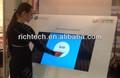 De espesor marco con buena calidad de 55''inch, puntos 2 pantalla táctil de infrarrojos del panel para la reunión