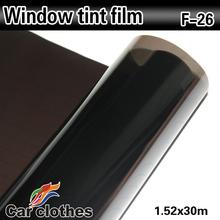 High Quality 1.52x30m Self-Adhesive Film Wrap Vinyl Car Window Tint
