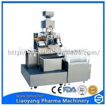 Precio barato, todo material de acero inoxidable lpr-100 softgel encapsulación máquina