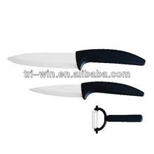 3PCS Ceramic Knifes Set Kitchen