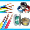 colored ningbo china copper cable products/pvc wire cable/single core electric wire