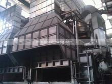 65T regenerative aluminium scrap melting furnace with two chambers