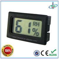 Handheld Electronic Hygrometer With Humidity Indicator