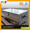 High quality silver aluminum tool boxes for trailers