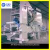 Small Auto Roller Conveyor Steel Shot Blasting Machin