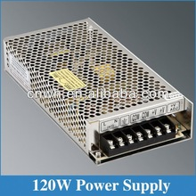 CE ROHS approved 120W 10 amp S-120-24 24v dc 5a power supply