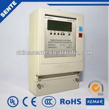 DTFS 7666 Three-phase four wire electronic multi-rate watt meter prepaid electrical energy meter