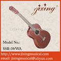 39 '' de caoba clásico guitarras guitarra de la venta de los rosetones