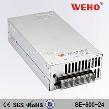 110VAC(220VAC) to 24vDC Power transformer 24V dc switching power supply 600w