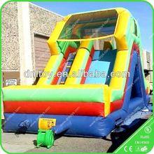 0.55mm PVC Durable children inflatable slip and slide