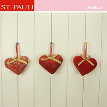 3inch Valentines Day Heart Ornament