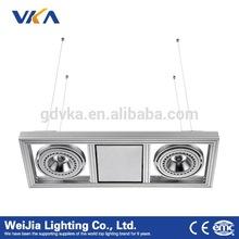 modern aluminum commercial led hanging pendant lighting for office ceiling light