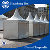 Colourful pvc tarpaulin 19oz for tent or cover