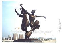 Outdoor Figure Human Bronze Statue