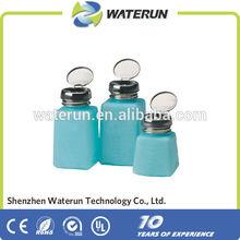 ESD alcohol dispenser pump bottle