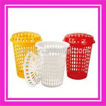 Flexible plastic laundry basket223KA