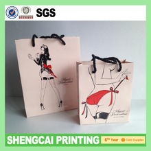 Sexy Lingerie Exhibition advertising paper bag