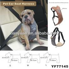 Black Fit Car Vehicle Seat Safety Belt Pet Dog Harness