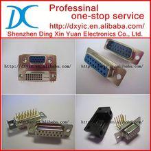 DAM15S600 D-sub 15 pin connector CONN DSUB WIRE WRAP