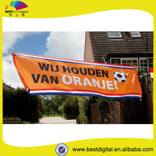 Dye-sub printing polyester banners