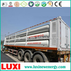 CNG container, 25Mpa , 8769.6Nm.3 , ISO 11120.cng cascade skid.cng container