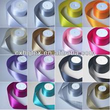 satin rose ribbon fabric for decoration