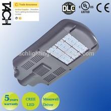 110-277V / 200-48V UL DLC 100W Cree LED Street Light with Meanwell driver