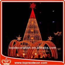 New christmas felt topper tree decoration